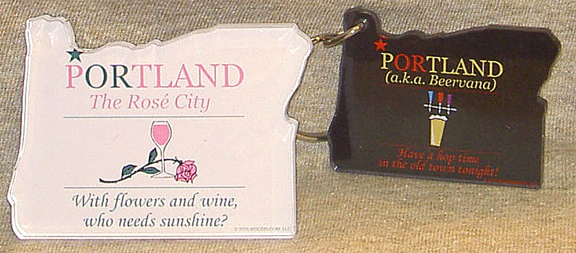 PORTLAND Gear keyring and magnet