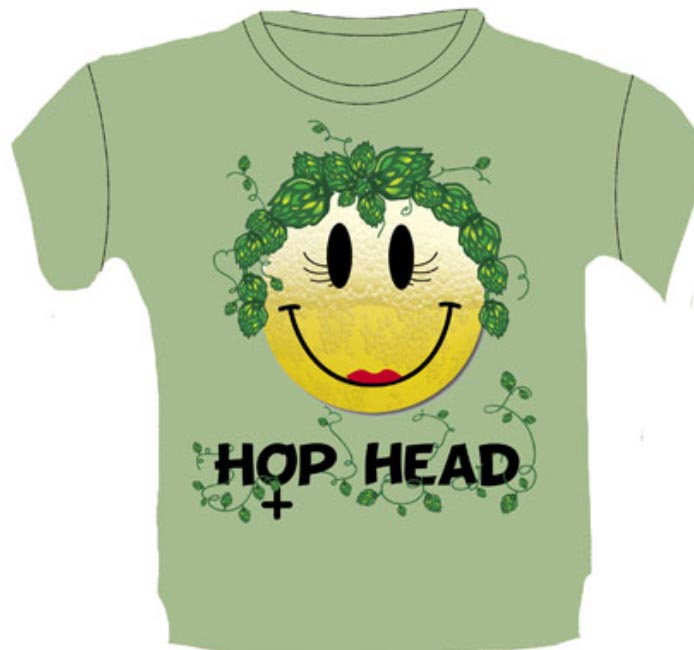 Hop Head gal's shirt