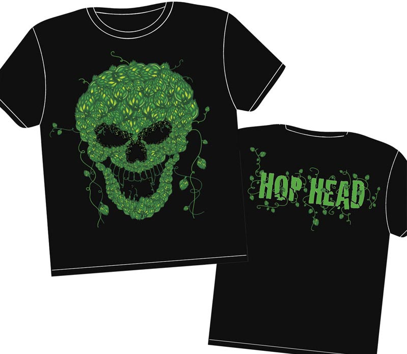 Hop Head Skull shirt