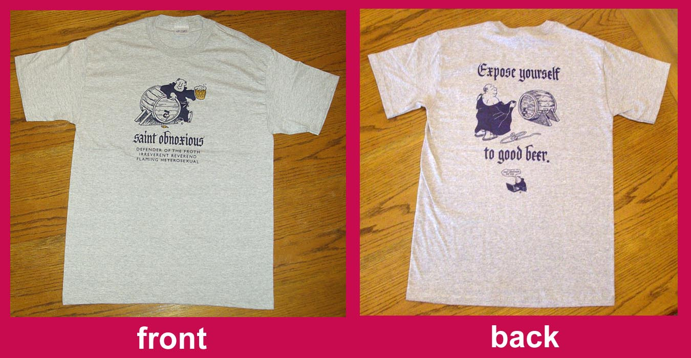 Expose yourslef to good beer t-shirt